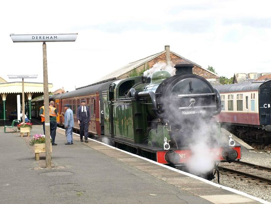 Mid Norfolk Railway in Dereham
