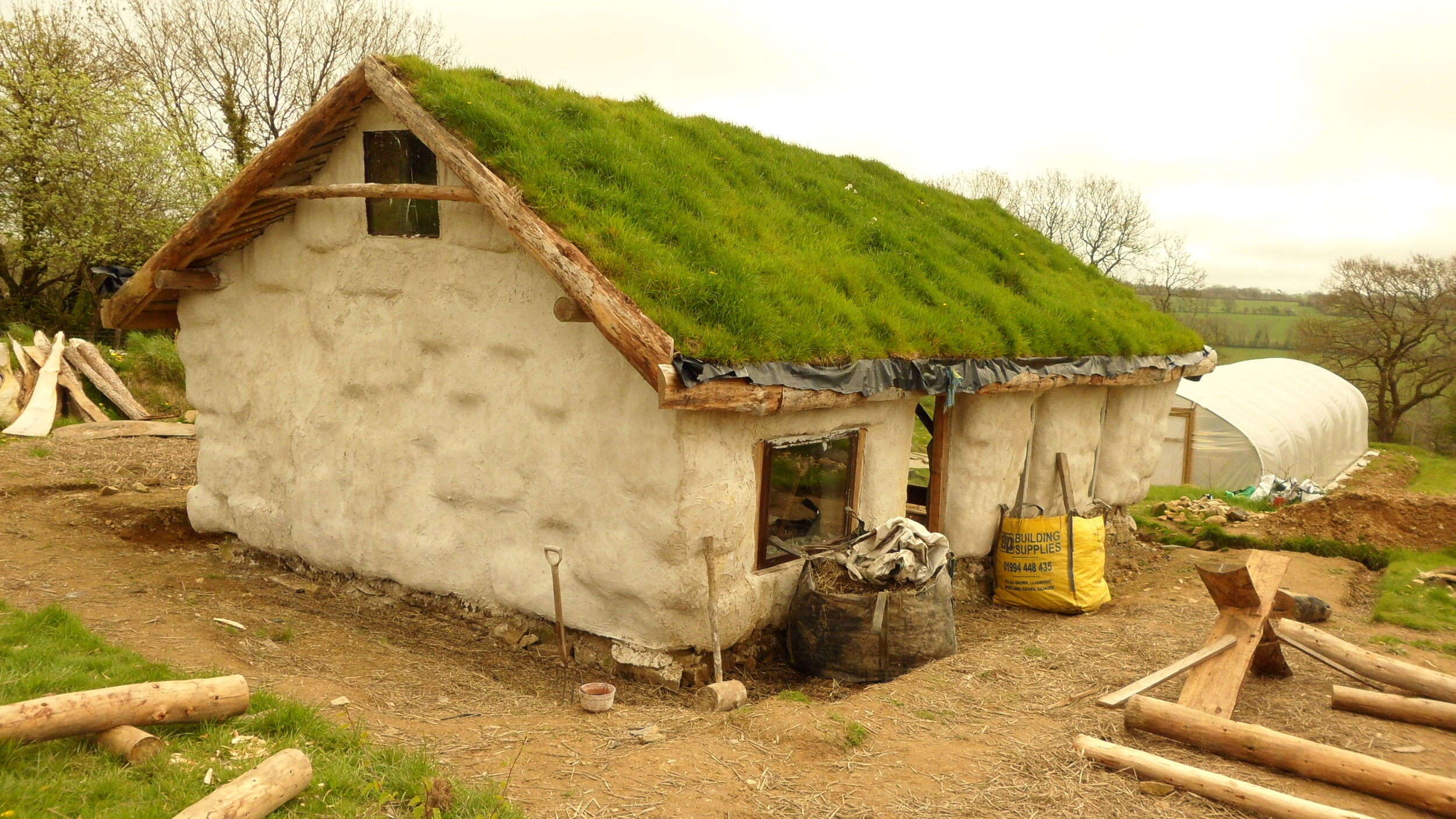 A spot of inspiration from a visit to Lammas in Wales in 2011