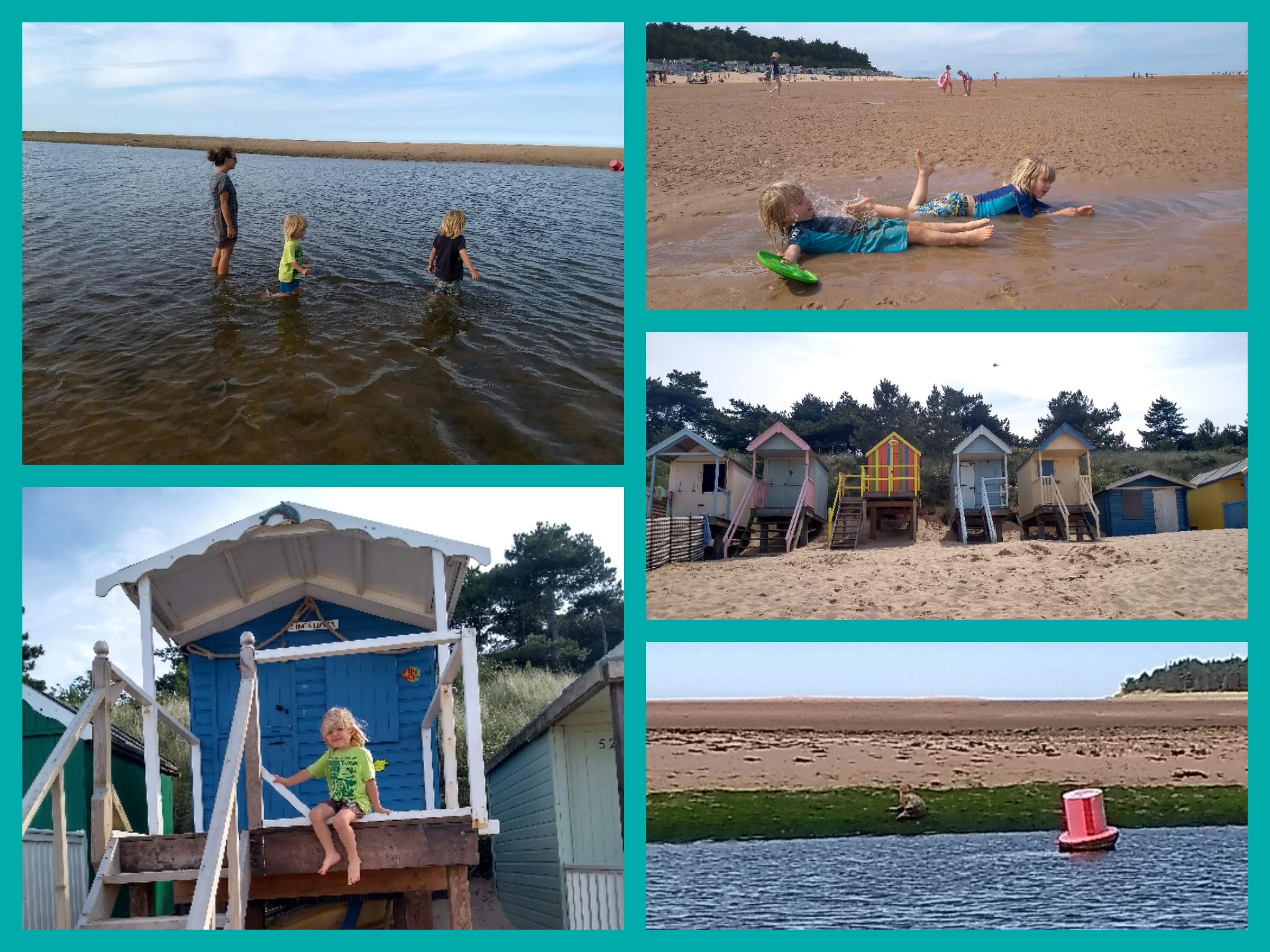Wells-next-the-sea beach fun