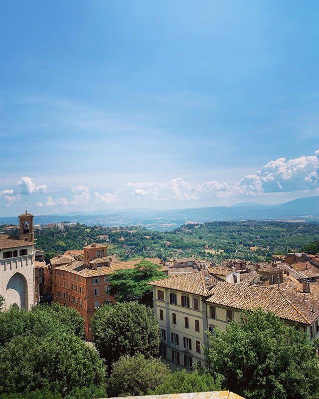 The last stop on our amazing Europe tour! Goodbye, Perugia. Hello, NYC.
