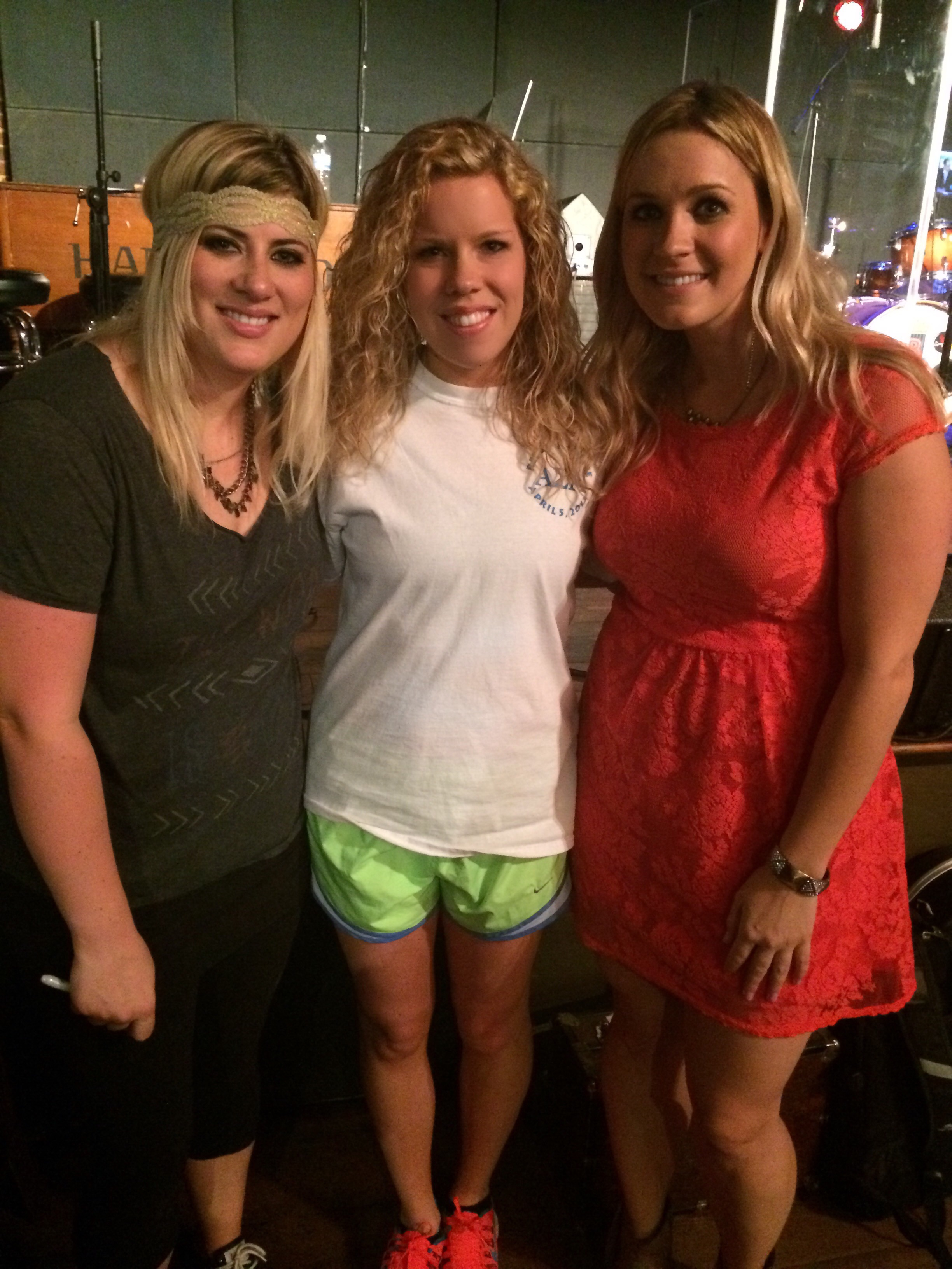 This was in Nashville at our first ever CMA Fest show!