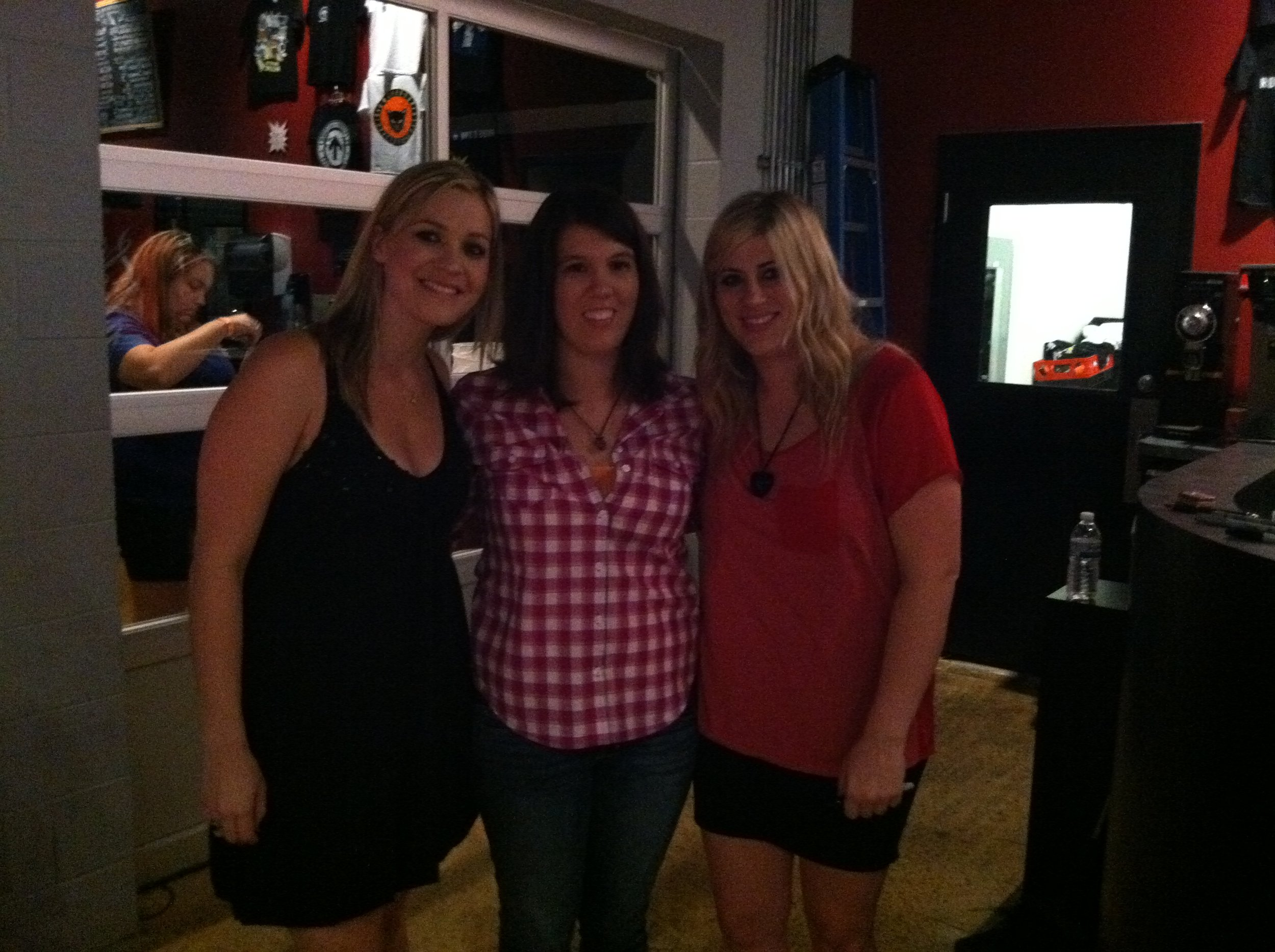 With Abby after our Heart Of Stone release show in Nashville! She's the best!