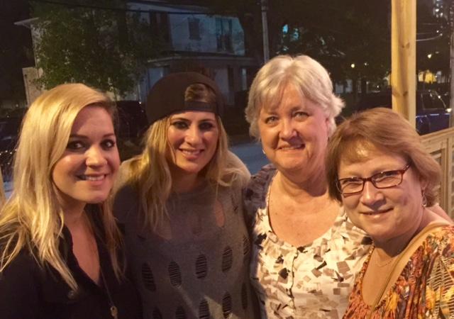 Smiles in Nashville after a show. Hi Pat!!!