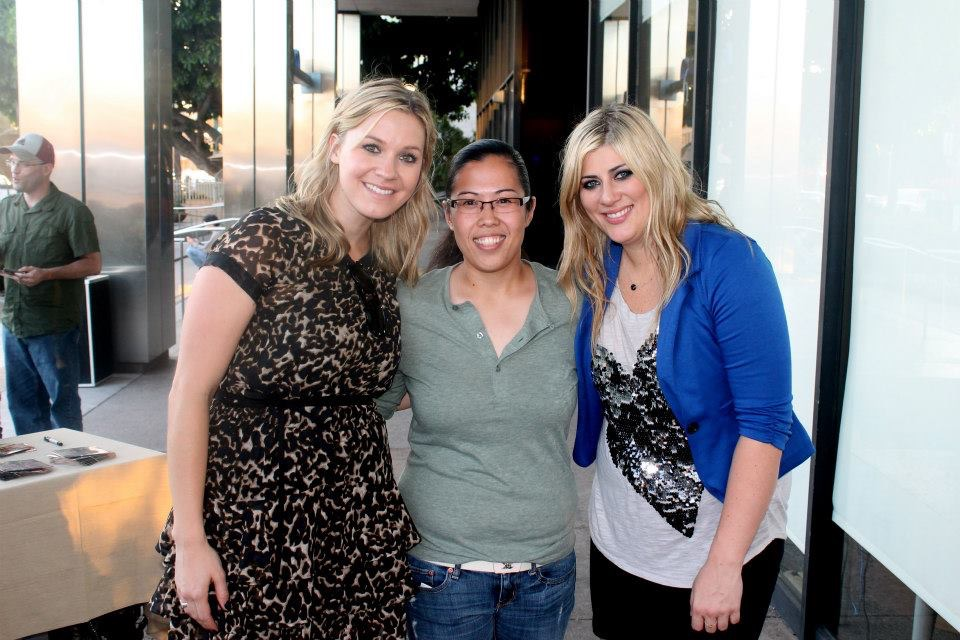 This girl Nettey in LA! She's the greatest. And this was at a Coffee Bean so WIN, WIN!