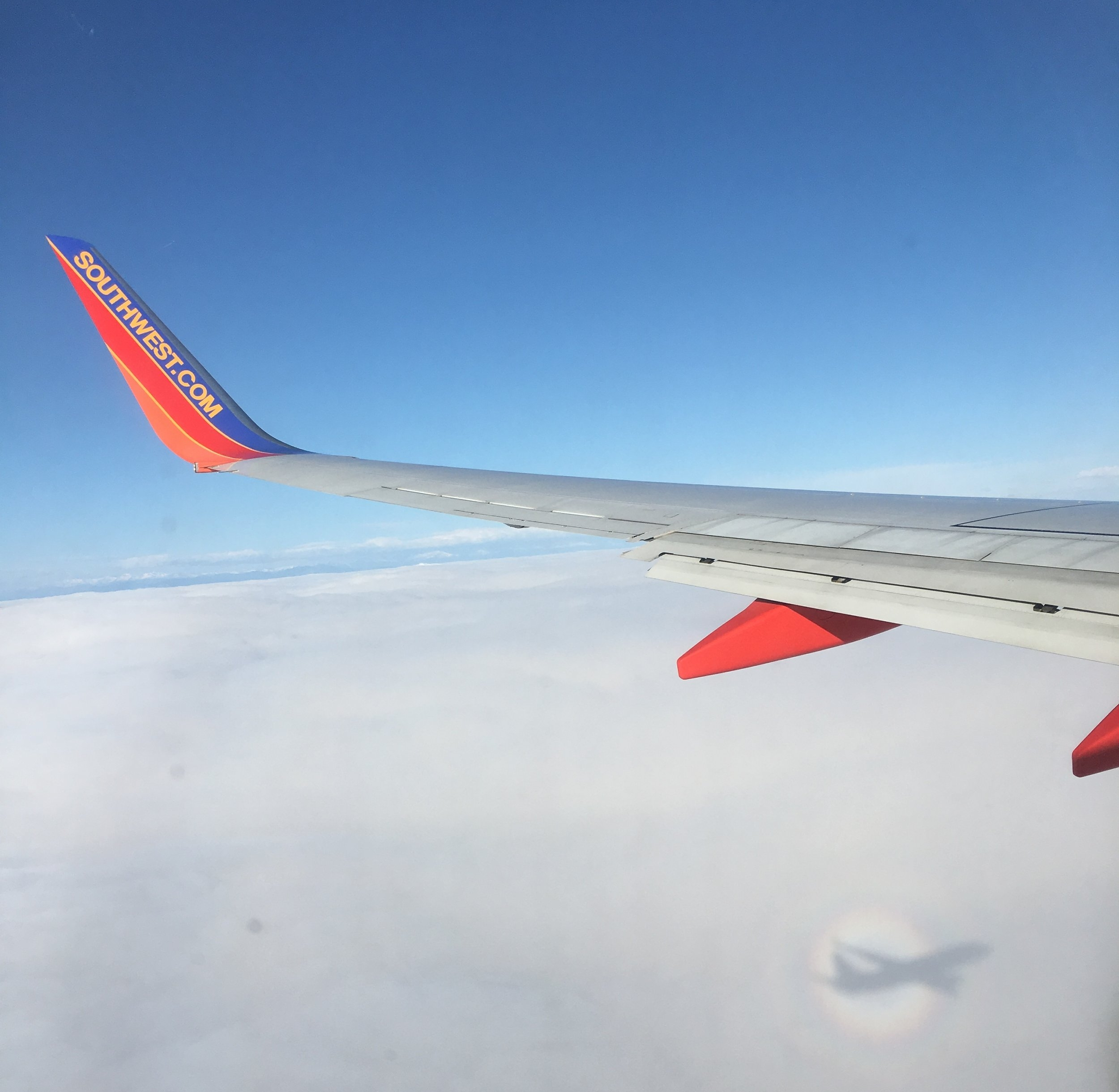 We used to fly American pretty much exclusively. NEXT. Southwest has become our GO-TO Airline and we LOVE them. We change our plans a lot, so their no-change fee policy is everything to us. Also, can you say FREE DRINK COUPONS? And also, free bags. Done and done. We love you Southwest.