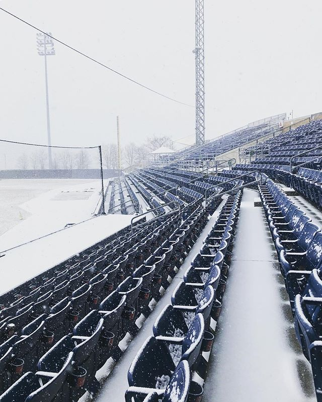 Stadium in the snow  1/2