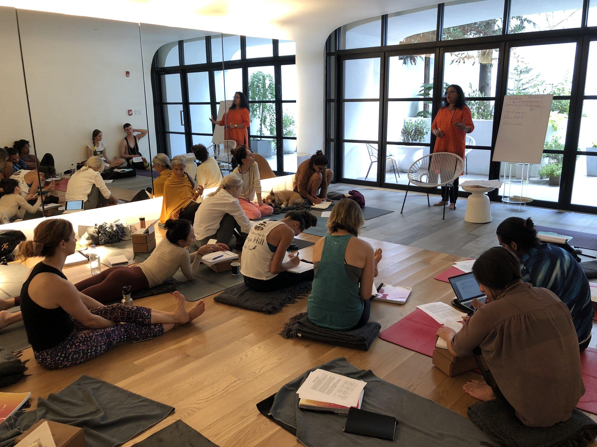Ayurveda for Yoga Teacher Training in Brooklyn, NY 2018
