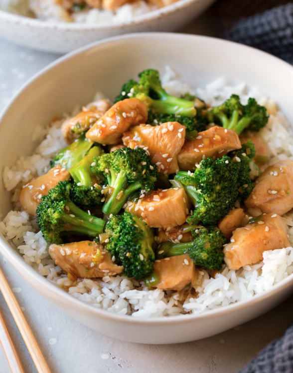 Broccoli Stir Fry -