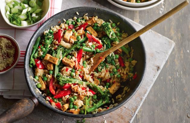 Veggie Rice Bowl -
