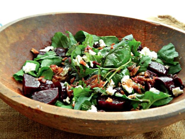 Beet Arugula Salad -