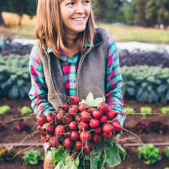 "5. Dishing up the Dirt - If you don't already know this woman, you should! She's a rad farmer in Oregon and dedicates her ""side time"" to creating awesome recipes. She uses mostly ingredients she grows herself."