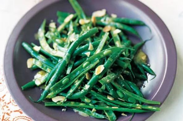 Green Bean Salad with Mustard Vinaigrette -