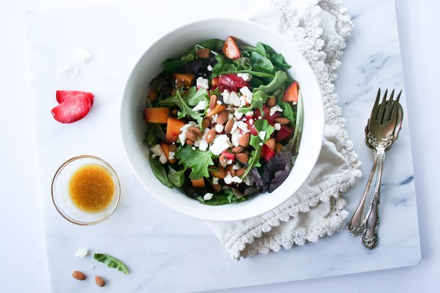 Stone Fruit Salad -