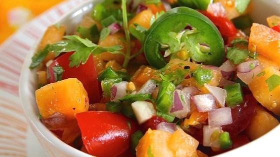 Cantaloupe Salsa -