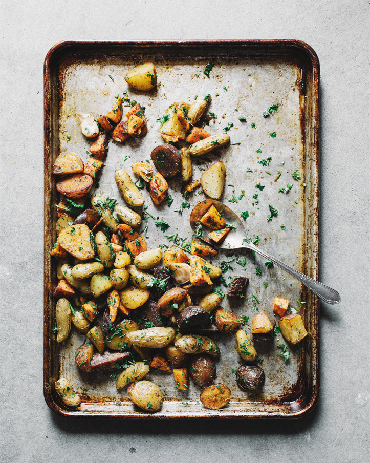 BASICS : MIXED ROASTED POTATOES -