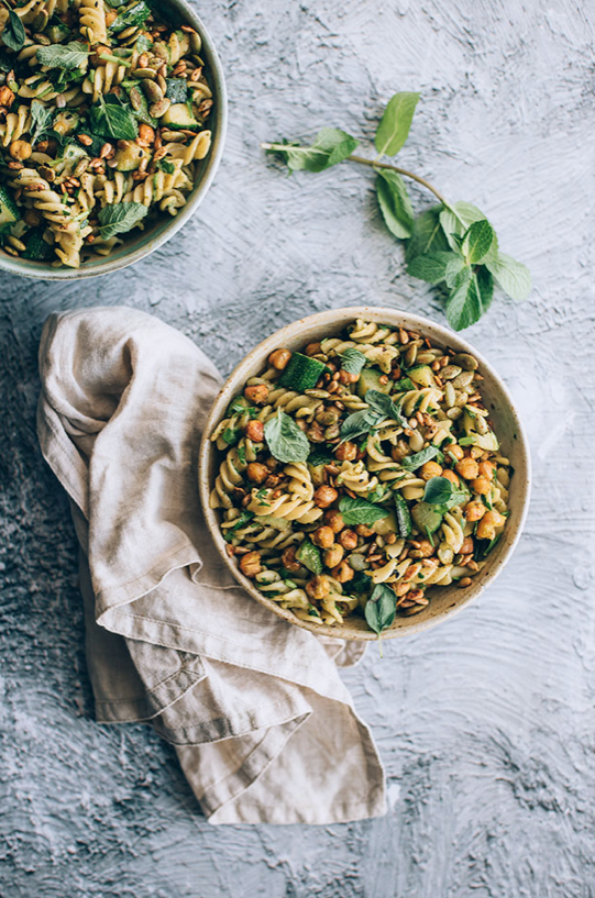 Vegan Pasta Salad -