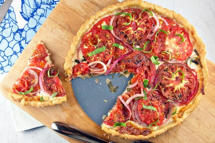 Tomato Pie -