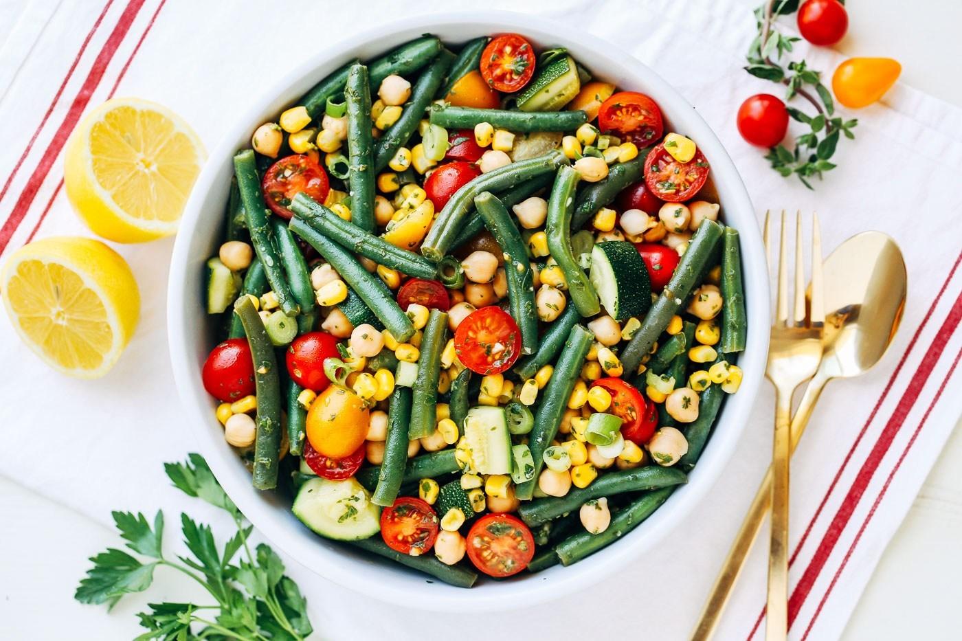 Green Bean Summer Salad -