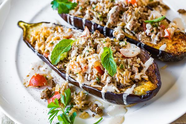Stuffed Eggplant -