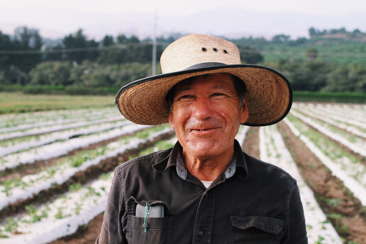 Antonio Iniquez has been in the Caprinteria organic fields for over 30 years. He worked with my