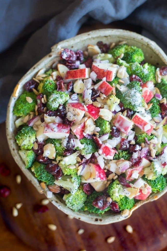 Apple Broccoli Salad -