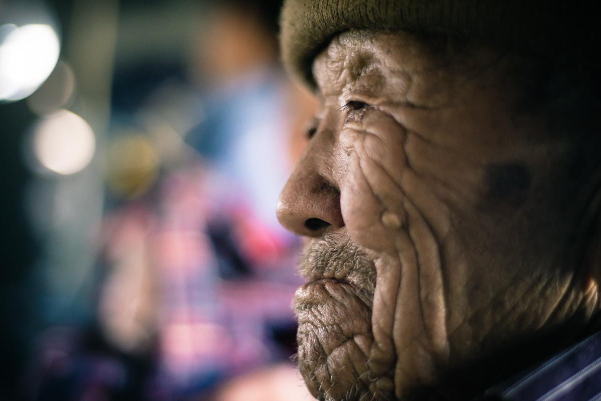 An 85-yr old survivor