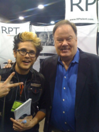 Me with Mr. Belding