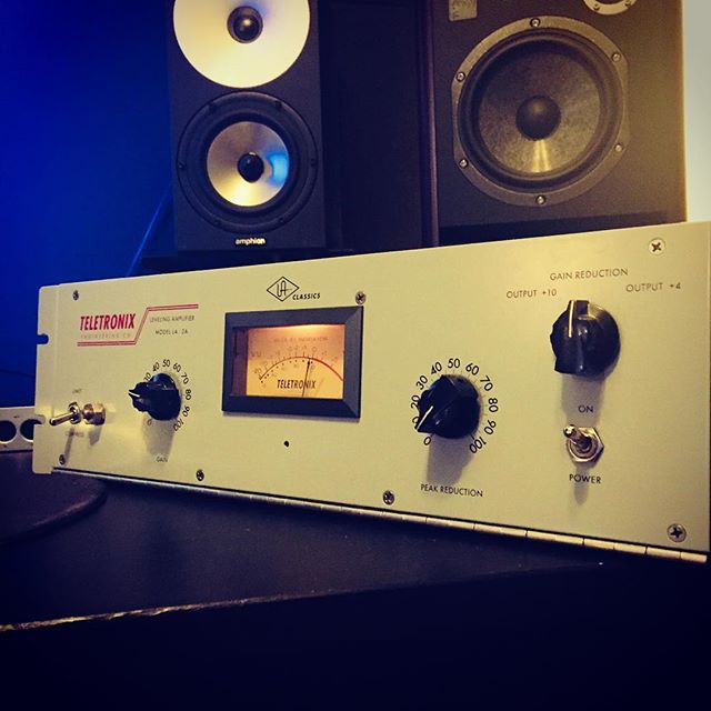 Do I need this?  No.  Did I want this?  Yes.  #LA-2A #universalaudio #amphion #focalaudio #unrackedgear #asthmaticrecordings