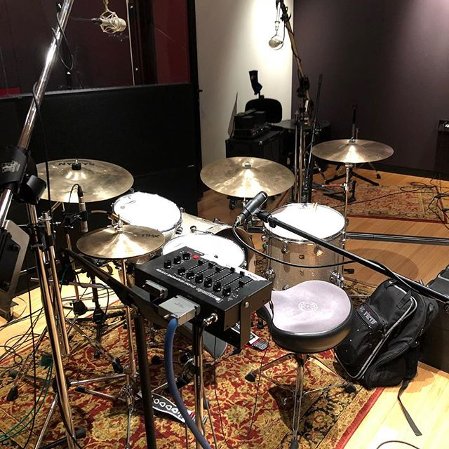 Drums at @sherpa_studios today