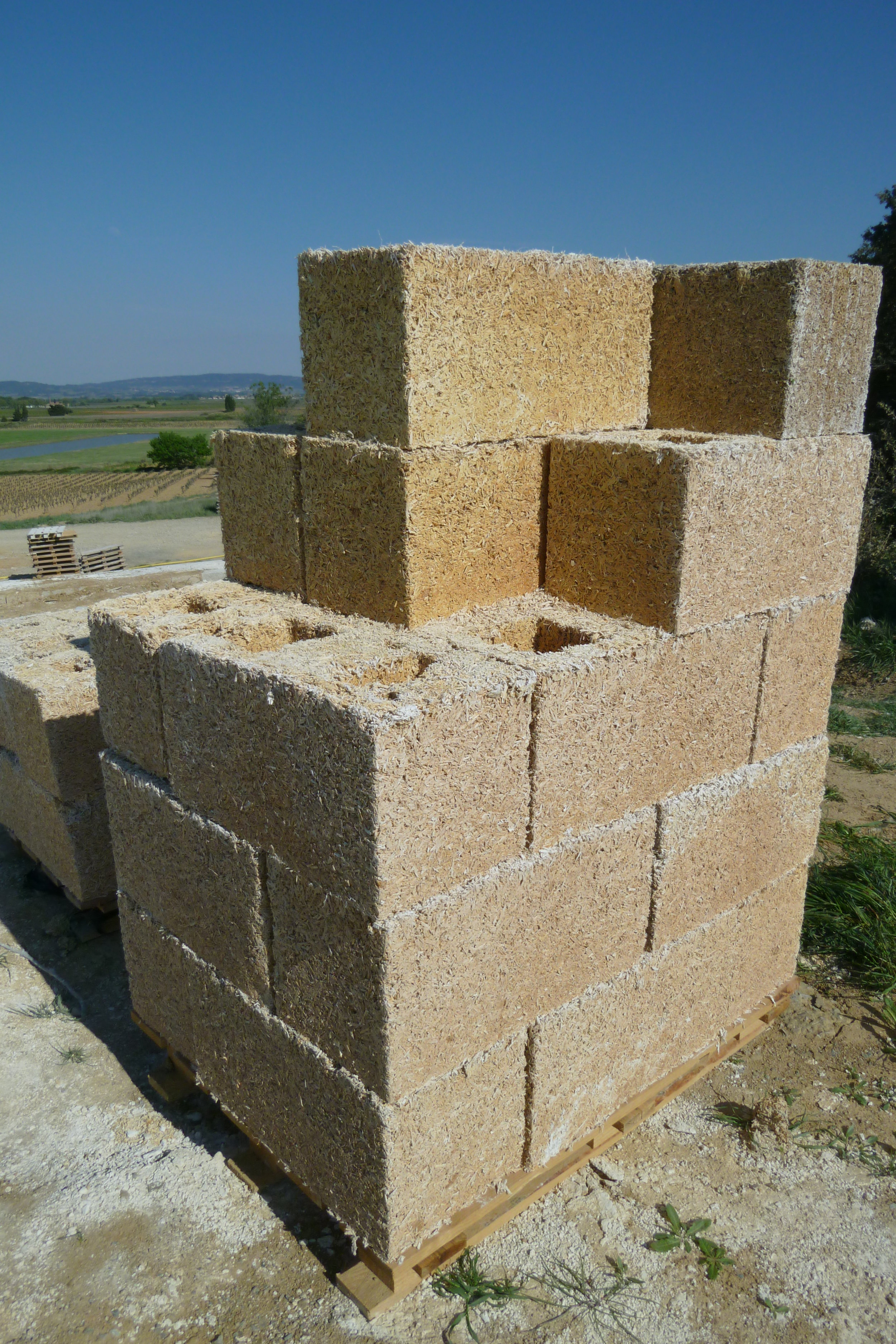 Hemp Bricks - Jacques Herviou -  Jacques Herviou.JPG