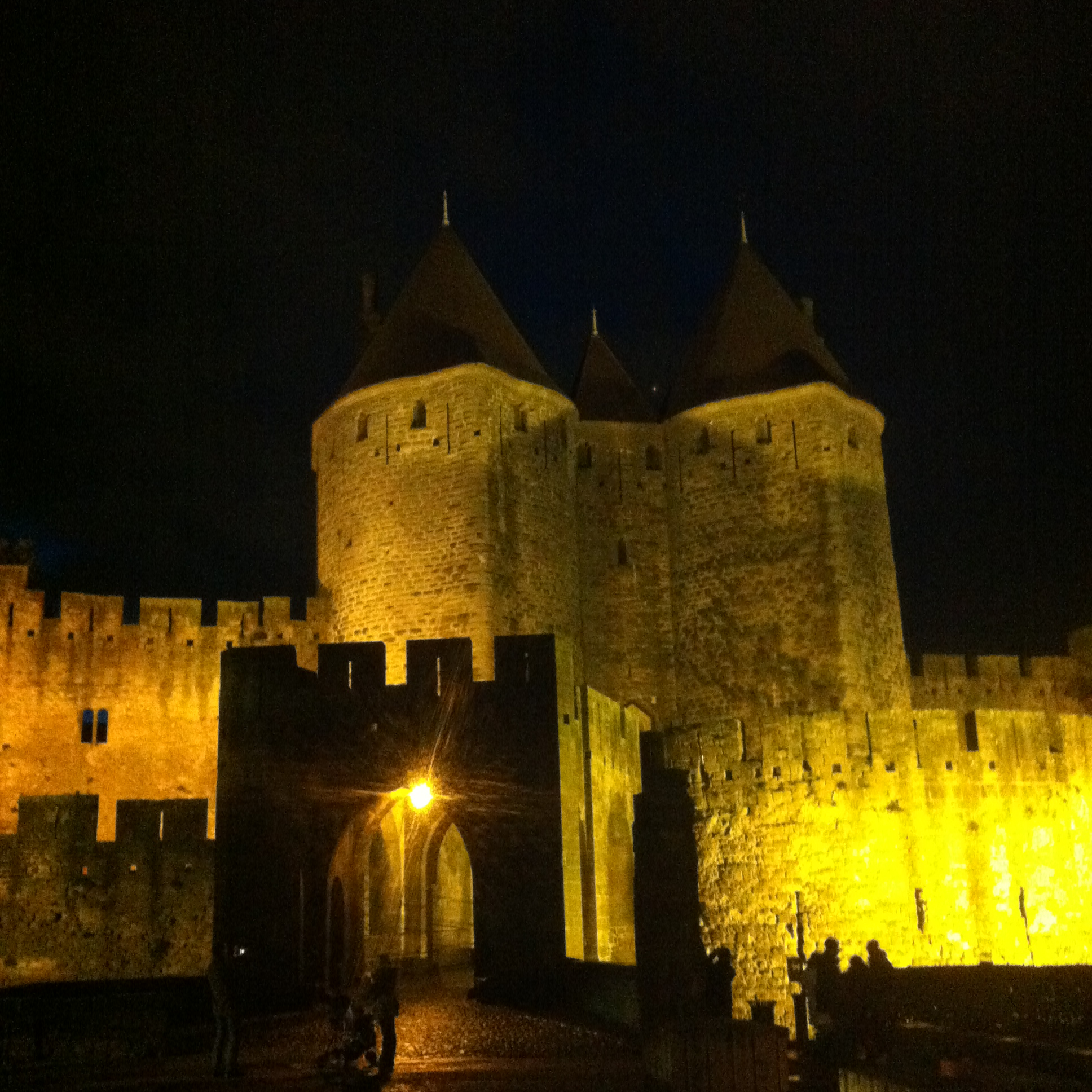 carcassonne by night - jacques herviou.JPG