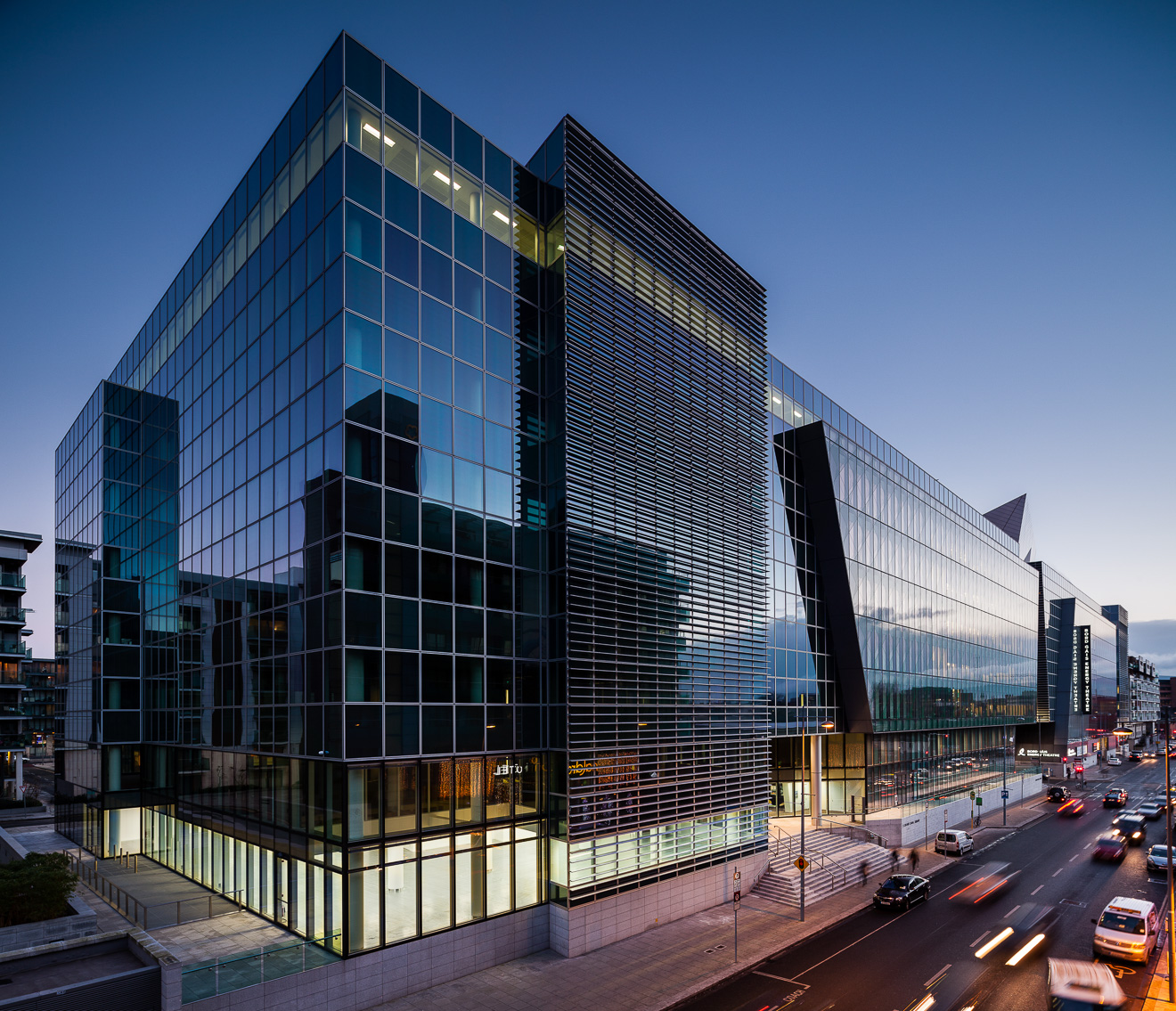 Facebook EMEA Headquarters   Grand Canal Square is a development of office buildings setting a landmark standard in environmental sustainability for the Irish commercial sector.