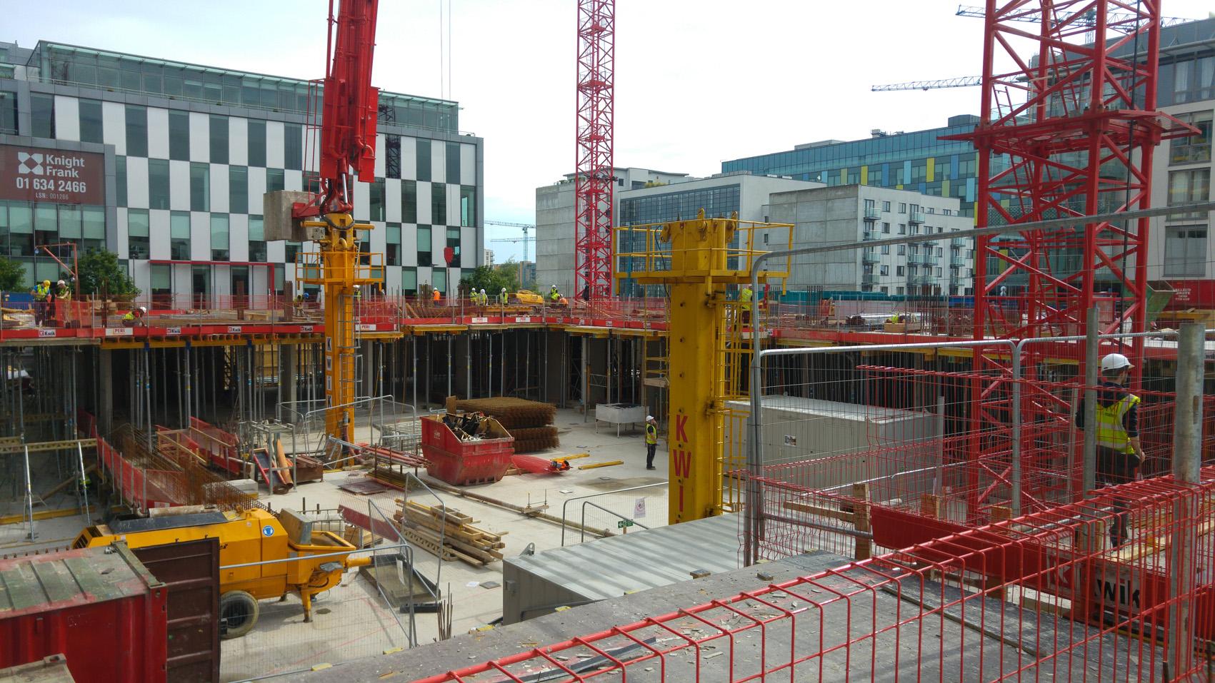 Latest News - January 2017 - Work begins on site
