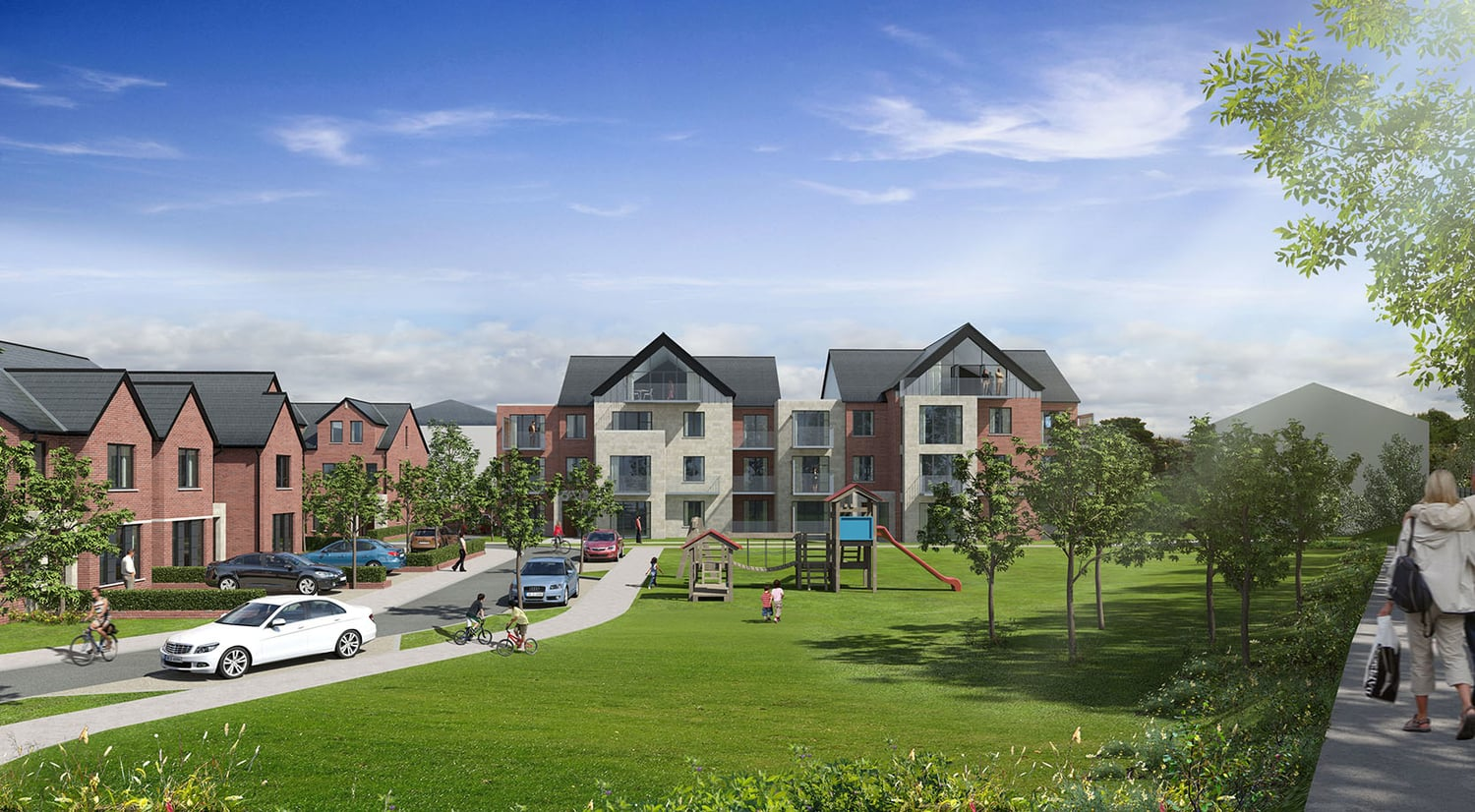Kilcock   MDO recently submitted planning permission for 64 new residential units, including 48 Dwellings houses and a 3- 4 storey apartment building.The site is a derelict factory site, which forms a key site in Kilcock town centre.