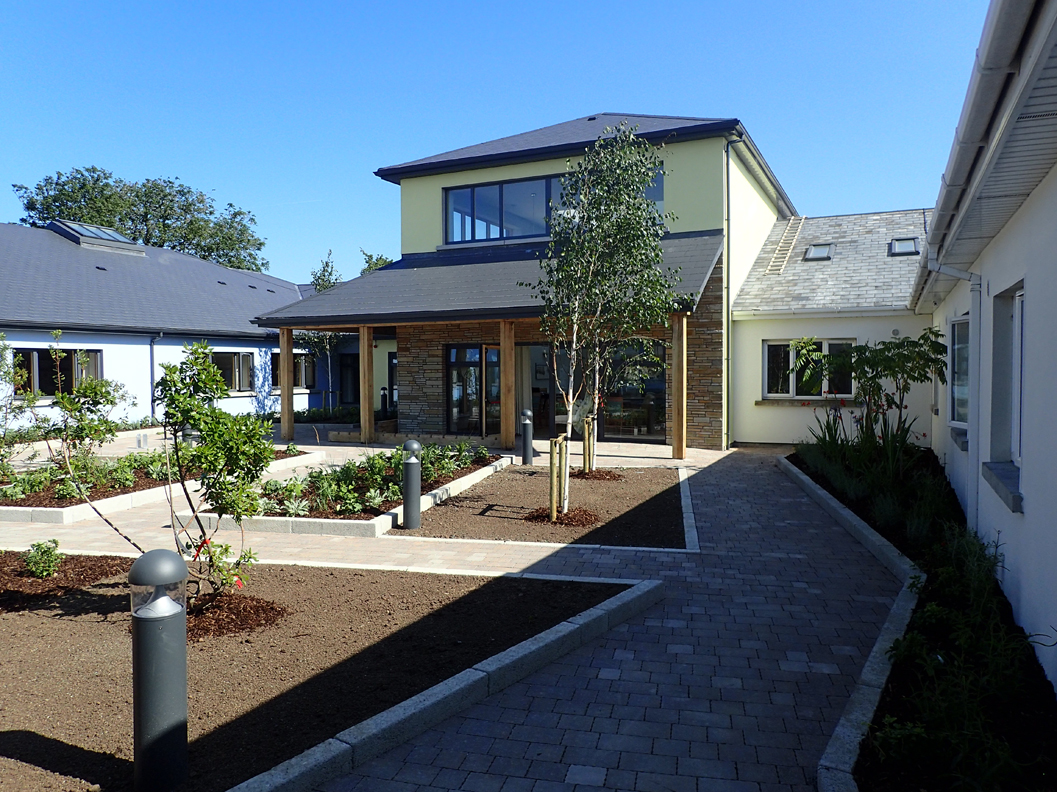 St. Peter's Nursing Home   This nursing home extension comprises an additional 32 new fully accessible en-suite bathrooms with and upgrade of existing facilities including new dining room and common areas.