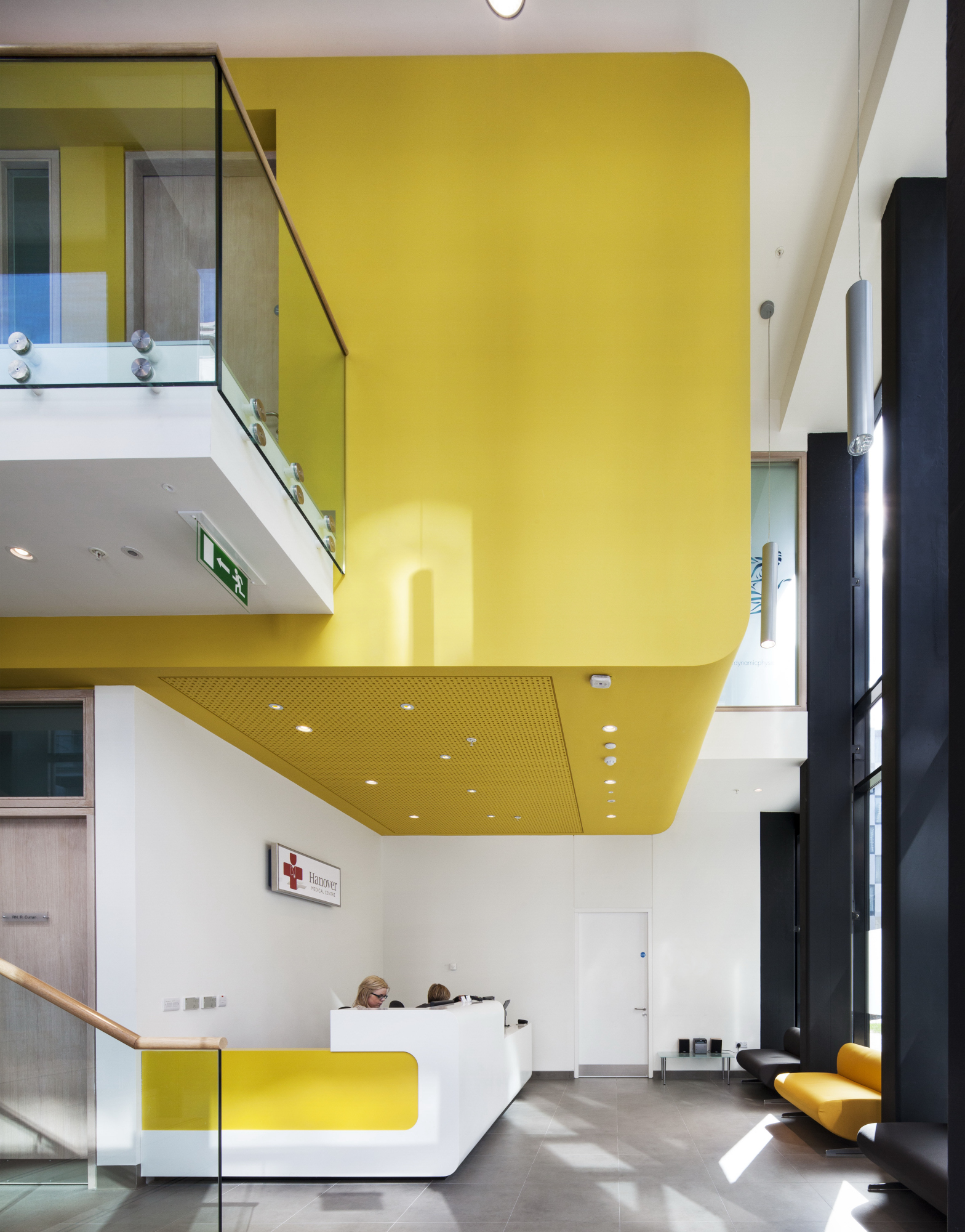 Hanover Medical Centre   Hanover Medical is a fit-out for a new general practice located in the Dublin Docklands.