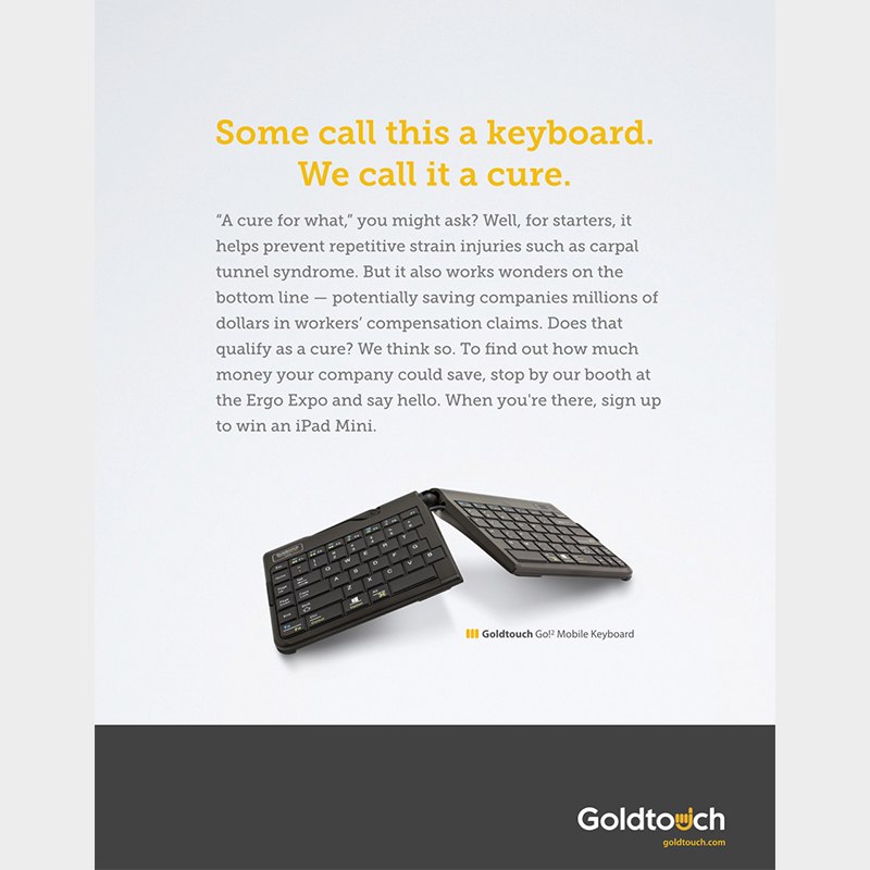 """Goldtouch """"Cure"""""""