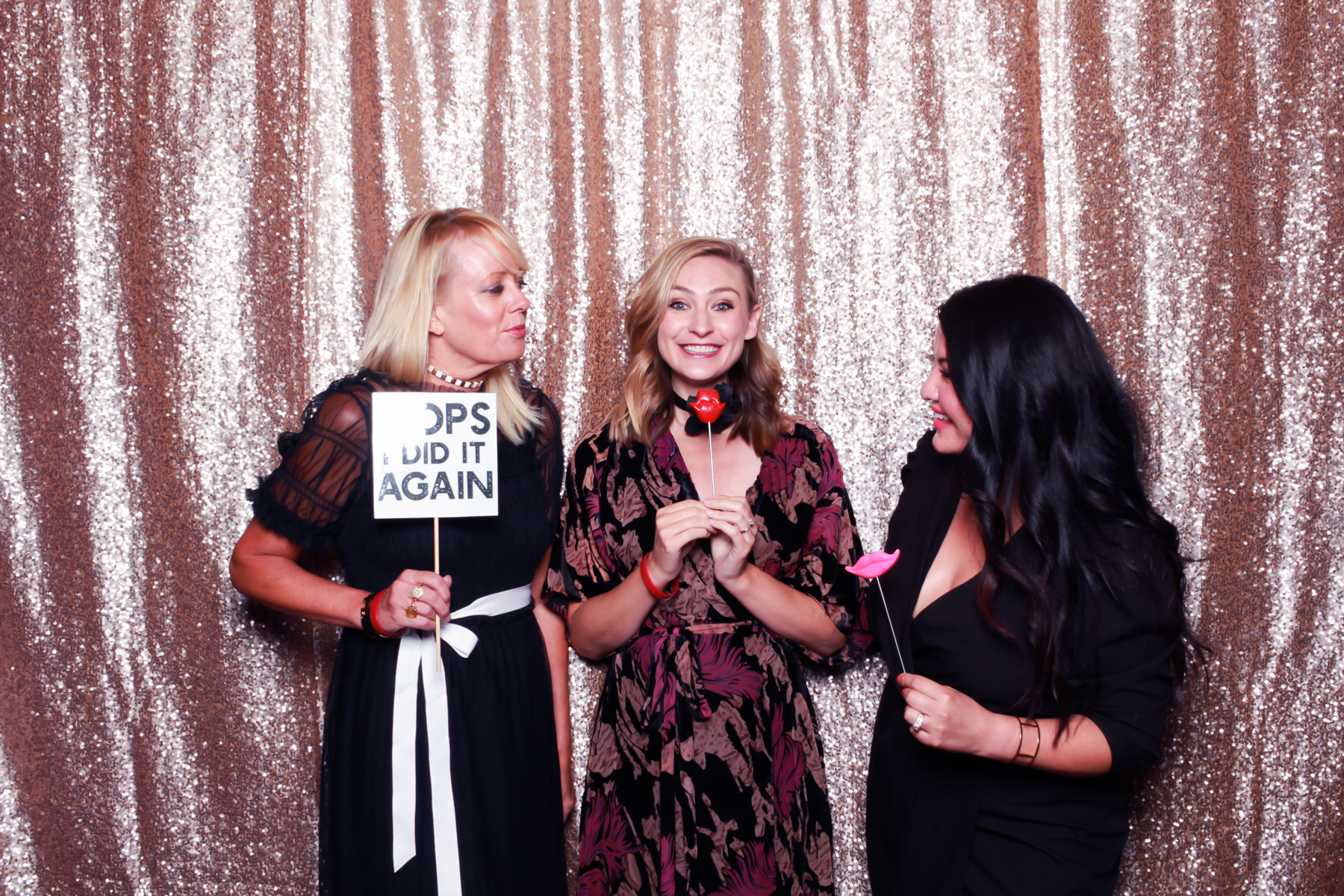 Lisa Cole of   West Fulton Street   pictured with Darcy Camden of Styled Seattle and Sydney Mintle of Gossip & Glamour