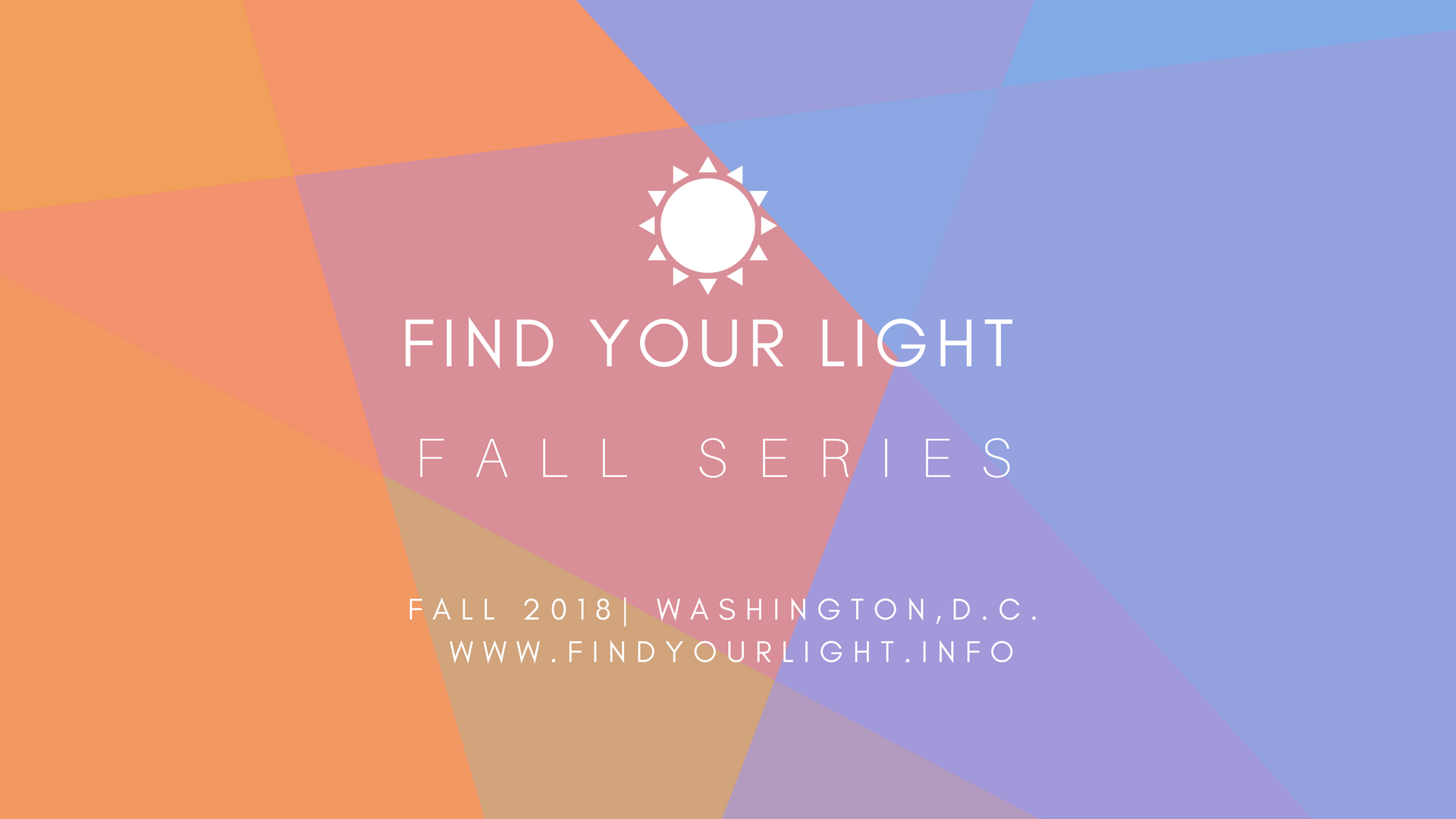 Find Your Light Fall Series