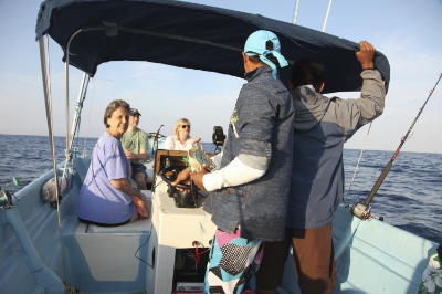 Several options exist for fishing excursions.