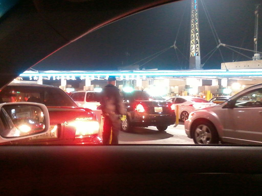 FILE PHOTO of otay mesa border crossing