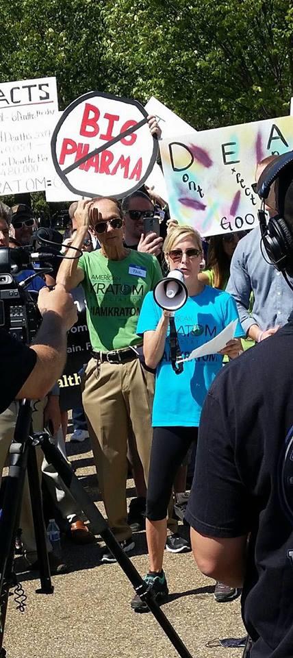 susan ash at 2016 rally at white house