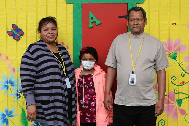 VALERIA VARGAS-OLMEDO AND HER PARENTS