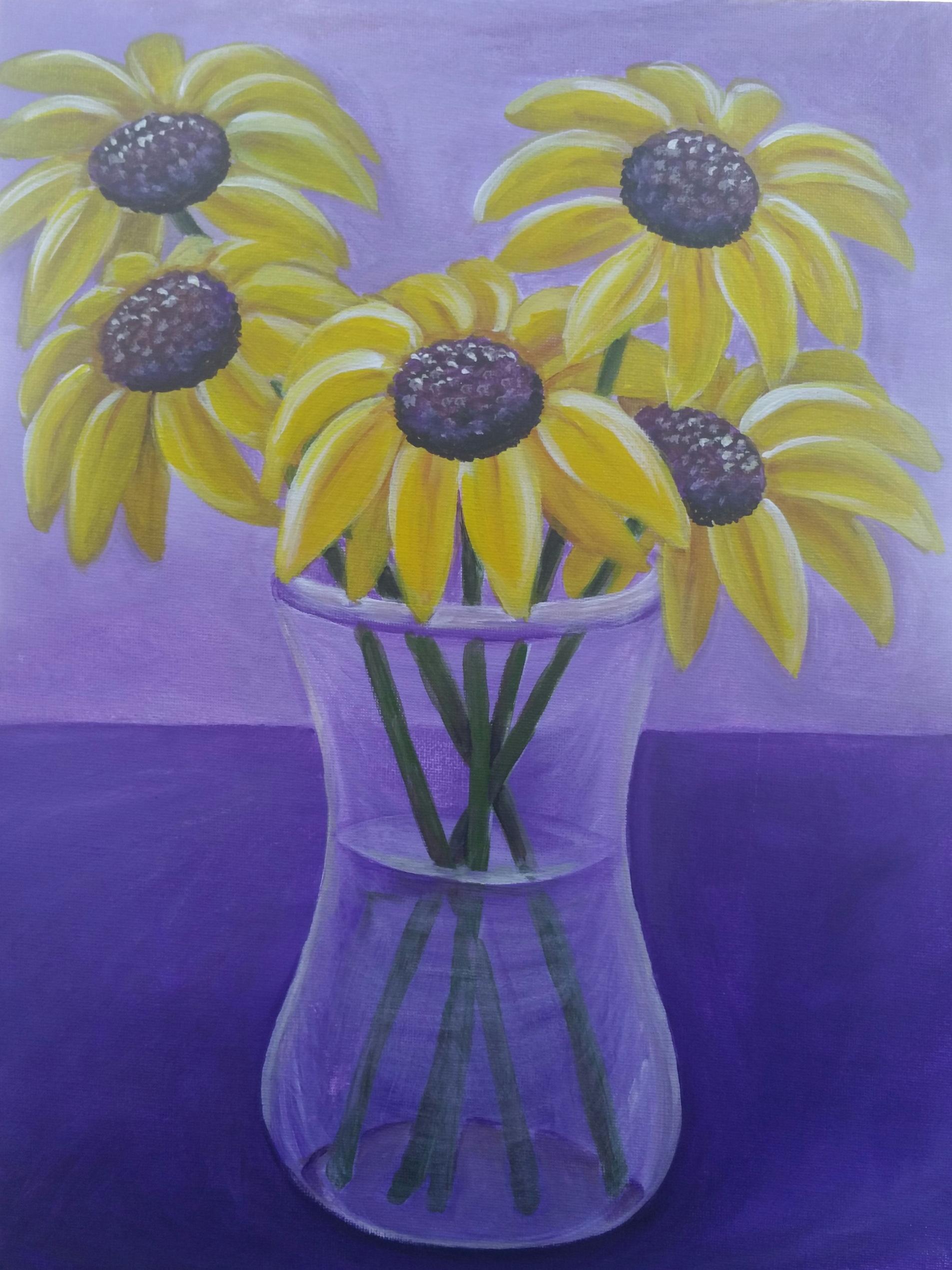 Blackeyes in Vase