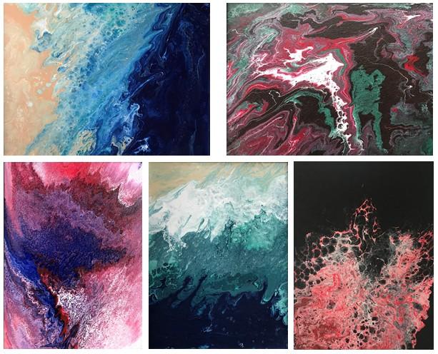 Fluid Acrylic aka. Flow Art