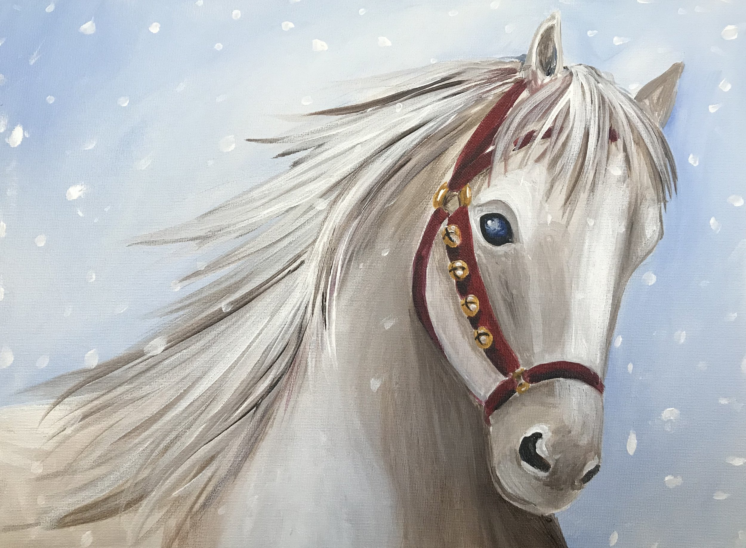 Designed for the Maryland State Quarter Horse Association.
