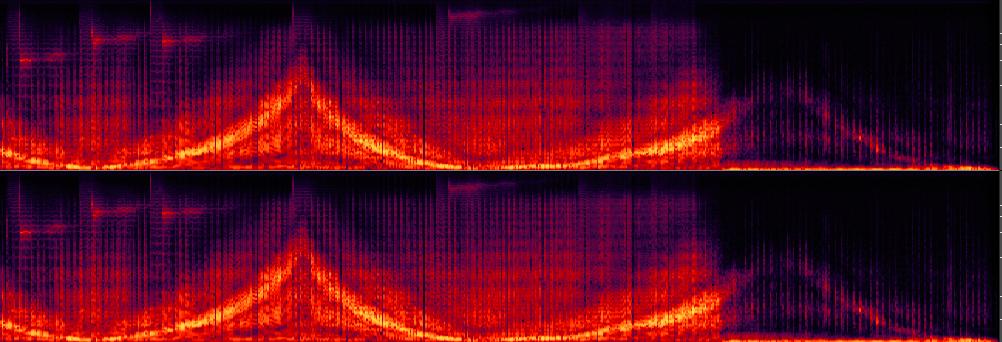Spectrograph of Krautrock phasing...