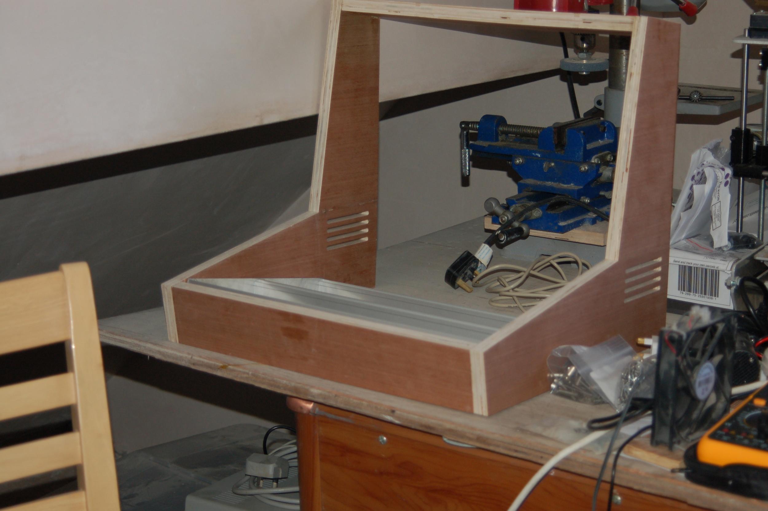 The plywood prototype