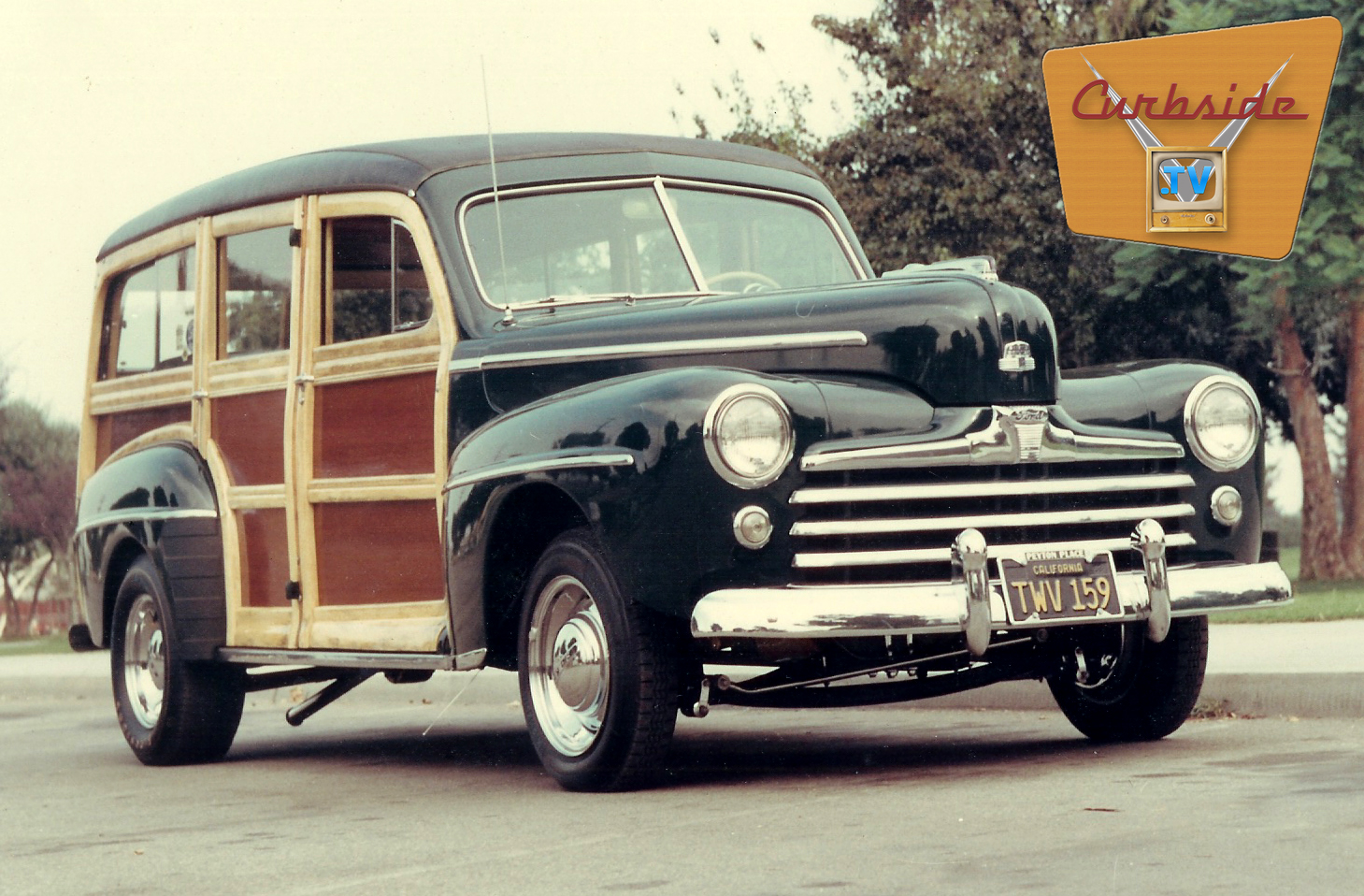 The 1948 Woodieas it appeared in  Rod & Custom Magazine .