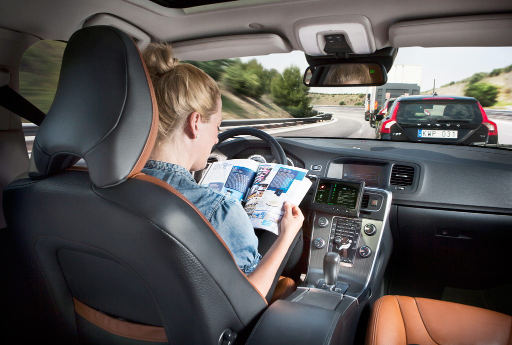 Self-driving cars afford greater safety and flexibility of one's time.